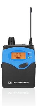 Der Funkempfänger Sennheiser EK 1039- Sichere Technik für Führungen und Funk-Dolmetscheranlagen